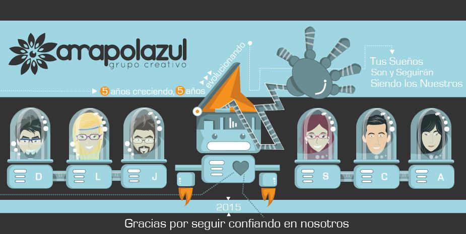 Amapola azul grupo creativo